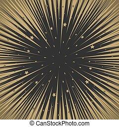 Shooting stars background. Flying meteorites. - Shooting...