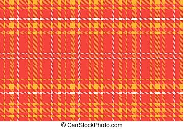 Red plaid pattern vector backgroun - Tartan, plaid pattern...