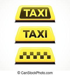 taxi, Ilustración, señal, Plano de fondo,  vector, blanco