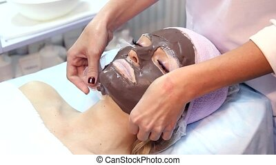 Chocolate Mask Facial Spa Chocolate Treatments Beauty Spa...