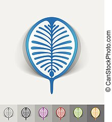 realistic design element palm Jebel Ali - palm Jebel Ali...