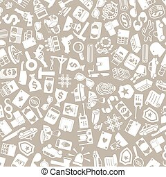 vector background of the crime icons - vector background of...
