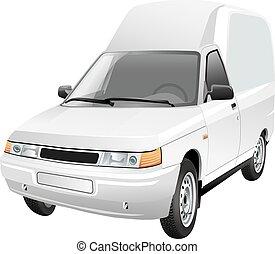 mini van delivery car