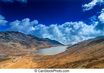 Elephant Lake, Kupup Valley, Sikkim, India - Elephant Lake,...