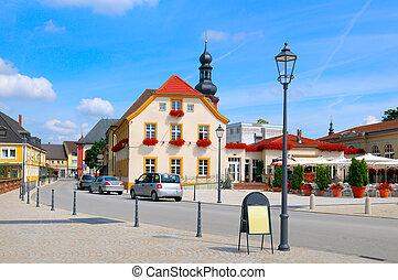 beautiful urban landscape (germany, Schwetzingen)