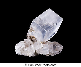 Rock Salt Crystal Cluster Frontal - Rock salt crystal...