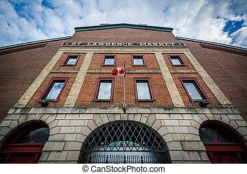 Saint Lawrence Market, in Toronto, Ontario