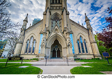 The Cathedral Church of St James, in Toronto, Ontario