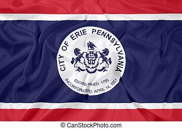 Waving Flag of Erie, Pennsylvania