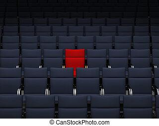 teatro, Asientos