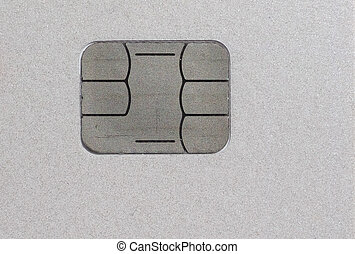 Card electronic chip