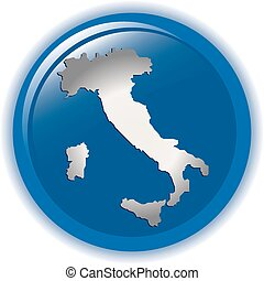 Italy concept icon web internet vector illustration