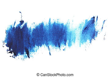blue grunge brush strokes oil paint - photo blue grunge...