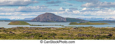 Myvatn Mountains and Hills - Spectacular volcanic landscape...