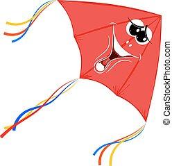 Red kite Vector Clip Art Illustrations. 810 Red kite ...