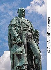 Karl Friedrich Statue - Statue of Carl Friedrich von Baden,...
