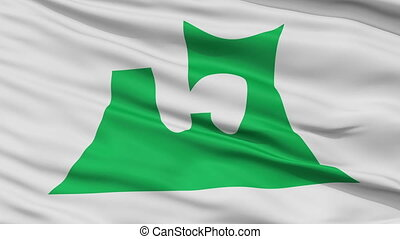 Aomori Prefecture Close Up Flag - Flag of Aomori Prefecture,...