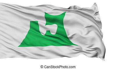 Aomori Prefecture Isolated Flag - Flag of Aomori Prefecture,...