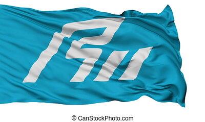 Ishikawa Prefecture Isolated Flag - Flag of Ishikawa...