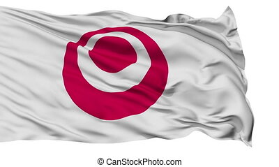 Okinawa Prefecture Isolated Flag - Flag of Okinawa...