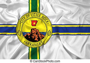 Waving Flag of Little Rock, Arkansas