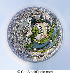 Planet of panorama of paris france - Planet of very nice...