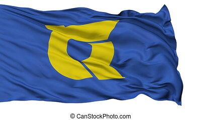Tokushima Prefecture Isolated Flag - Flag of Tokushima...