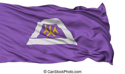 Yamanashi Prefecture Isolated Flag - Flag of Yamanashi...
