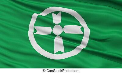 Akita Capital City Close Up Flag - Akita Capital City Flag,...