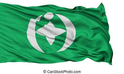 Chiba Capital City Isolated Flag - Chiba Capital City Flag,...