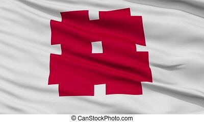 Gifu Capital City Close Up Flag - Gifu Capital City Flag,...