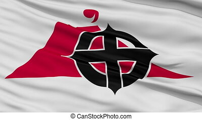 Kagoshima Capital City Flag, Kagoshima Prefecture of Japan,...