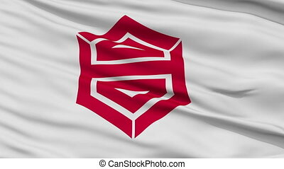 Kochi Capital City Close Up Flag - Kochi Capital City Flag,...