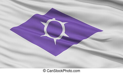 Kofu Capital City Close Up Flag - Kofu Capital City Flag,...