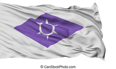 Kofu Capital City Isolated Flag - Kofu Capital City Flag,...