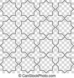 Background - Islamic Pattern - Vector Background - Islamic...