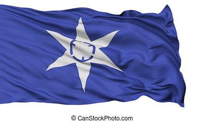 Mito Capital City Isolated Flag - Mito Capital City Flag,...