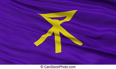 Osaka Capital City Close Up Flag - Osaka Capital City Flag,...