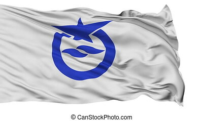 Otsu Capital City Isolated Flag - Otsu Capital City Flag,...