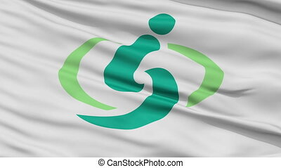 Saitama Capital City Close Up Flag - Saitama Capital City...