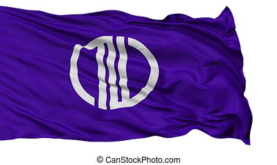 Sendai Capital City Flag, Miyagi Prefecture of Japan,...