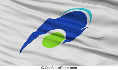 Tsu Capital City Close Up Flag - Tsu Capital City Flag, Mie...