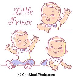 Little baby boy set.