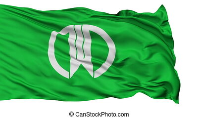 Yamagata Capital City Isolated Flag - Yamagata Capital City...
