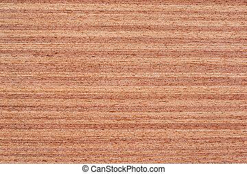 Teak Veneer - Texture of teak veneer