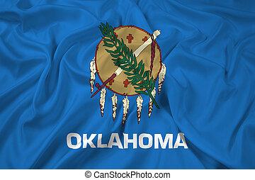 Waving Flag of Oklahoma State