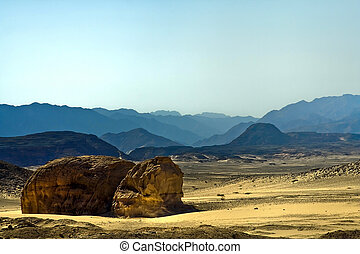 Landscape in the Sinai,Egypt.