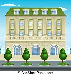 Victorian Georgian House Building - Victorian or Georgian...
