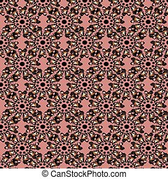 Seamless pattern from ornament.