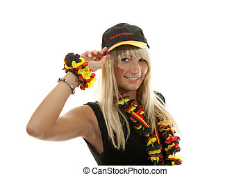 Germany Fan - Girl